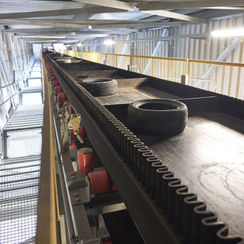 Conveyor for Alternative Fuels