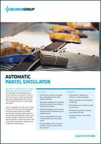 Parcel Singulator PDF