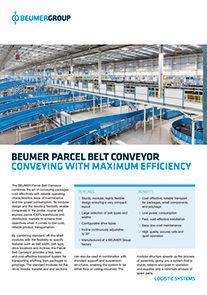 Parcel Belt Conveyor PDF