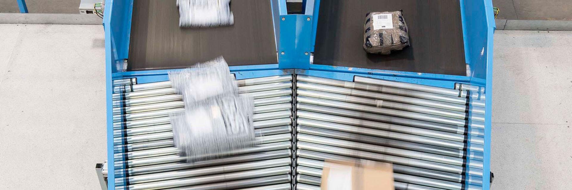Parcel Belt Conveyor