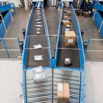 Parcel Belt Conveyor